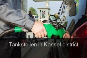 Tankstellen in Kassel district